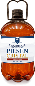 Growler 2 litros chopp Pilsen Cristal Providência
